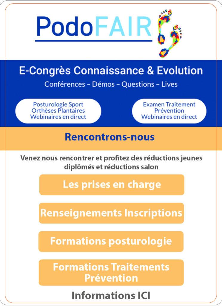 E-congrès Connaissance & Evolution - PodoFAIR